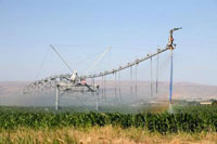 Valley Pivot Irrigation System in Utah