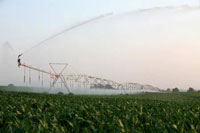 Zimmatic Pivot Irrigation System in Grace Idaho