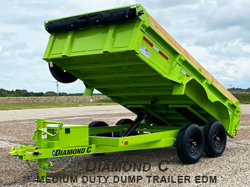 DIAMOND C GENERAL DUTY DUMP TRAILER Model: EDG