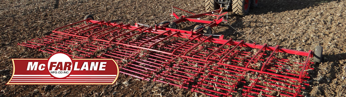 McFarlane 16-Bar Forward-Fold Harrow dealer Utah and Idaho