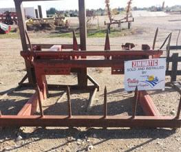 Hesston 4830 1 Ton Bale Fork