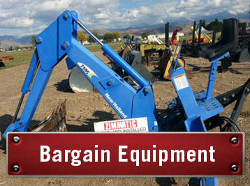Bargain Farm Equipment for sale. Used tractors and equipment