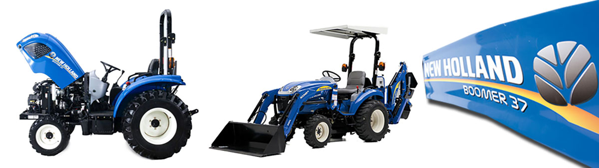 Boomer Tractors & Parts by New Holland
