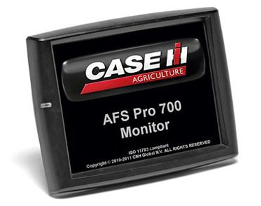 Case IH AFS Pro 700 display for Advanced Farming Systems