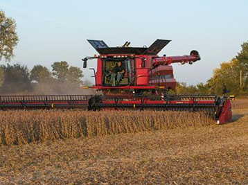 Case IH Harvester Combines and heads