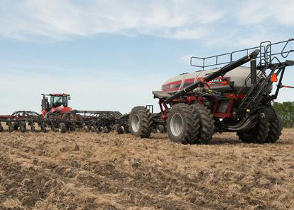 Case IH Early Riser Planter, Precision Air Cart, Flex Hoes, Air Drills