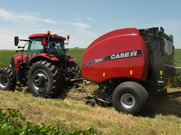 Case IH Round and Square Hay Balers