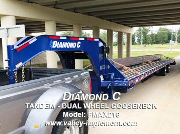 Diamond C TANDEM - DUAL WHEEL GOOSENECK FMAX216