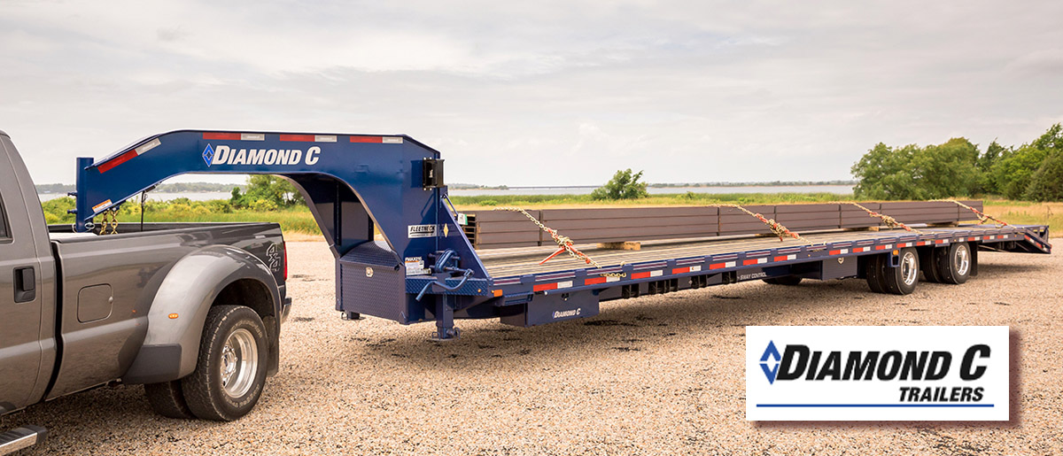 Diamond C trailers for sale in Idaho and Utah