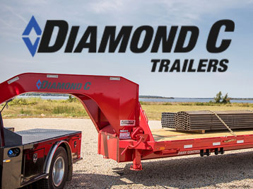 Diamond C Trailers - Flatbed Gooseneck Trailers