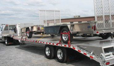 Eby Flatbed Aluminum Trailers in Utah and Idaho
