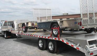 Eby Flatbed Aluminum Trailers in Utah and Idaho