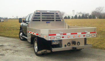 Eby aluminum truck bodies and towing beds in Utah and Idaho