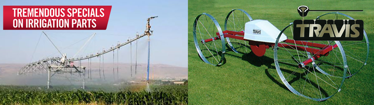 Farm irrigation systems, parts and service
