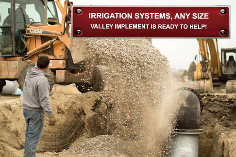 Farm Irrigation system installation near Preston Idaho, Grace Idaho and Logan Utah