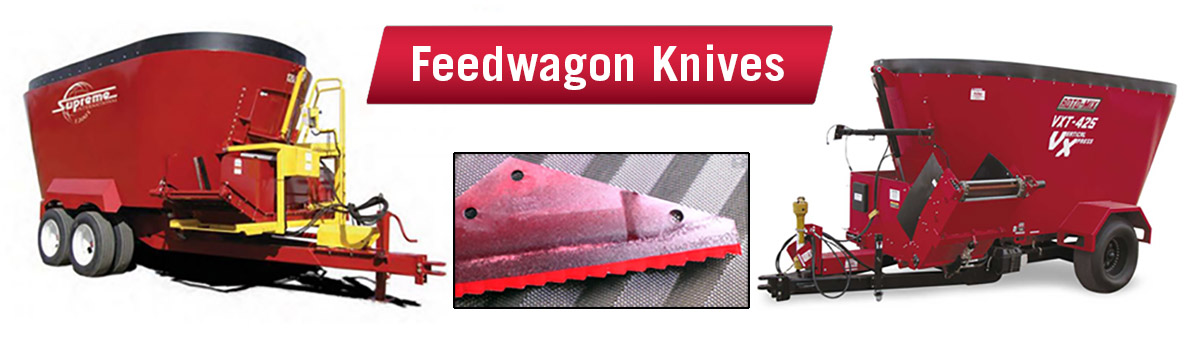 Feed Mixer Wagon Knives and Blades for Supreme and Roto-mix Vertical Mixers