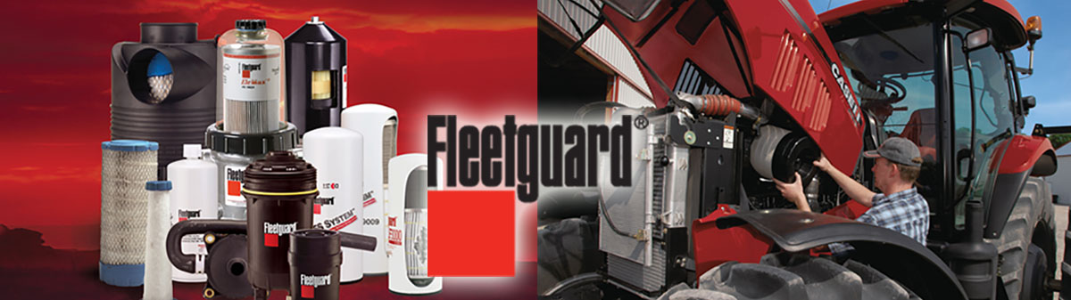 Fleetguard filters for Cummins and all other makes of heavy duty engines