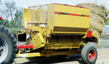 Haybuster 2650 Balebuster - Bale Processor