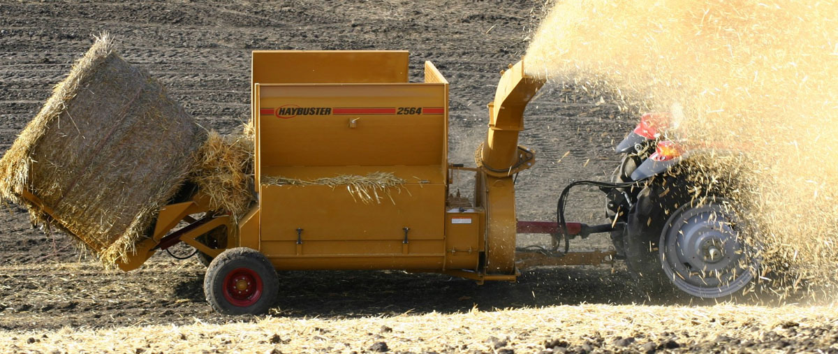 Haybuster Balebuster Hay Processors