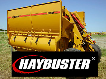 Haybuster Hay Equipment, Rock Pickers, Seed Drills, Bale Processors in Utah and Idaho