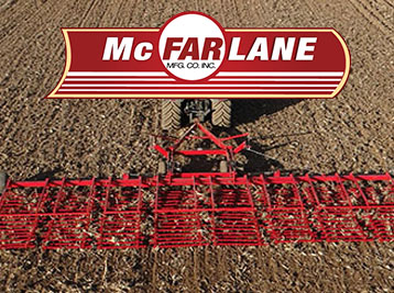 McFarlane harrows, sections, ydraulic Lift and Fold