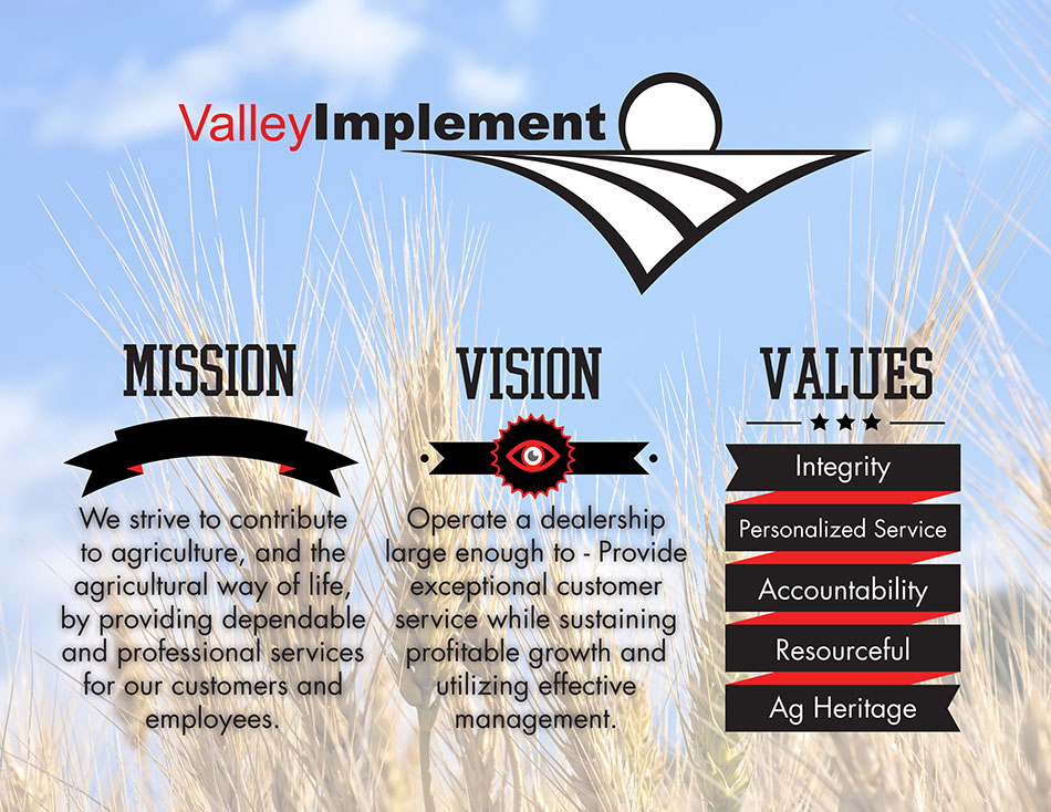 Valley Implement Mission and Values