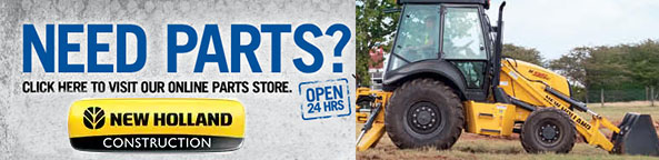 New Holland Construction Parts