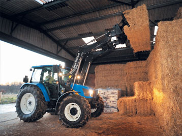 New Holland Tractor 700TL loader series