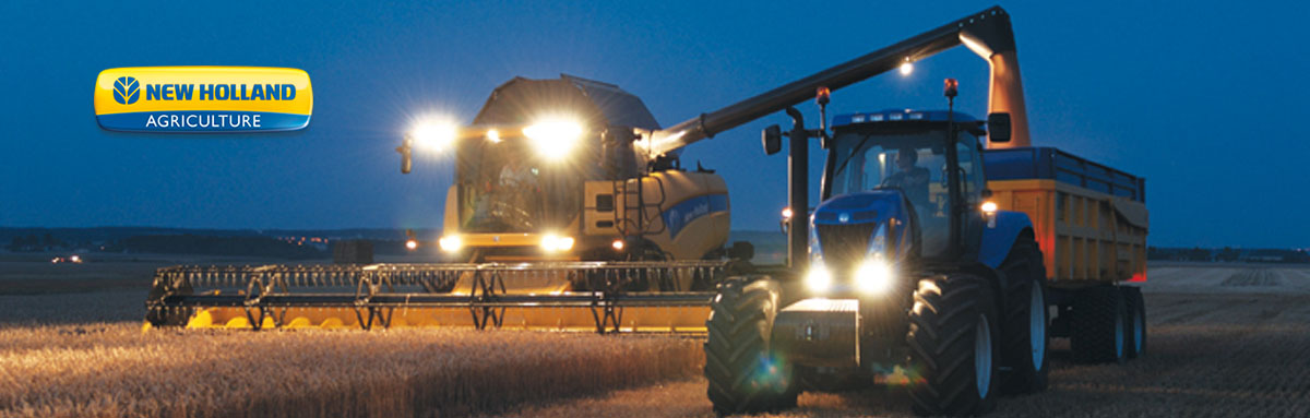 New Holland Tractors and Equipment