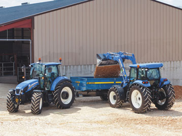 New Holland Farm Tractors T9 - T4