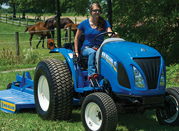 Workmaster Compact Tractors by New Holland in Utah and Idaho
