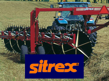 Sitrex Hayrakes, Haymaker, Disc Mowers and Balers