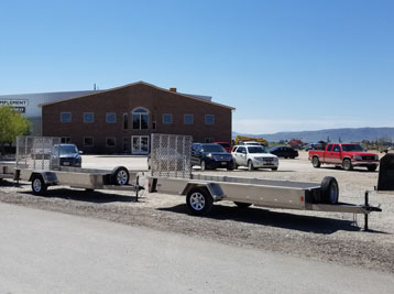 Swift Built Flatbed Trailers in Preston Idaho