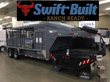 Swift-Built Trailers in Preston Idaho and Logan Utah