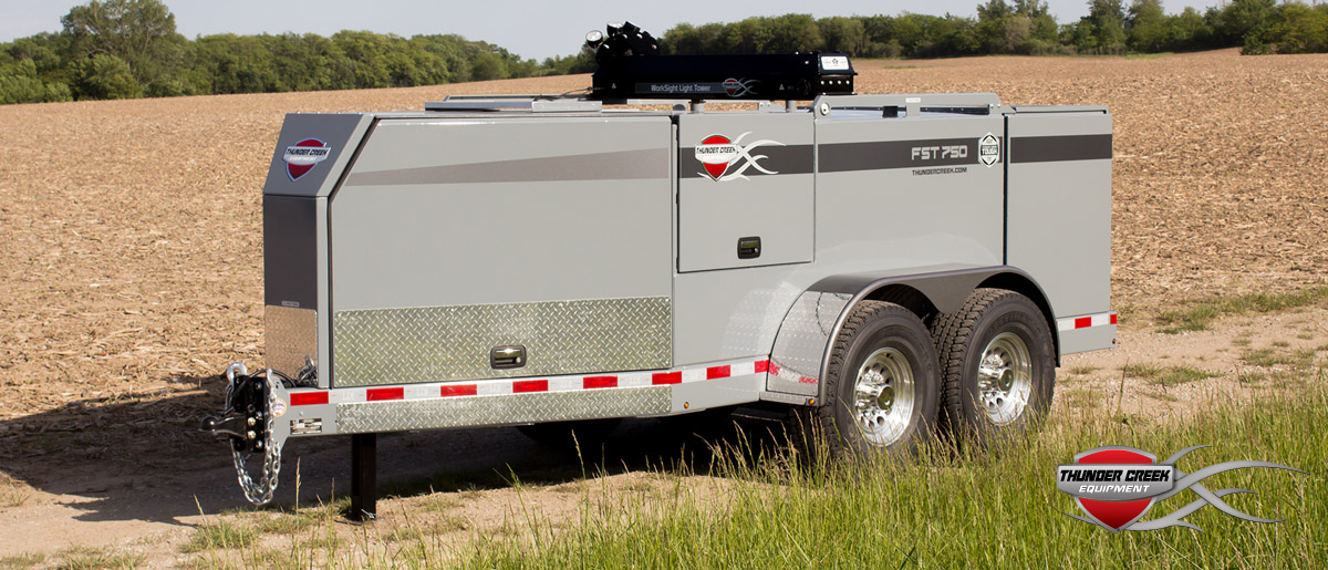 Thunder Creek Fuel and Service Trailers in Utah and Idaho